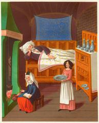 Sickbed Scene1470