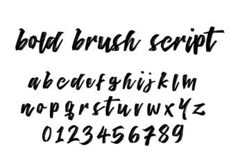 Bold Brush Script