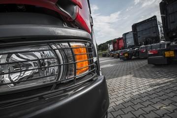 Semi Trucks Dealer Lot