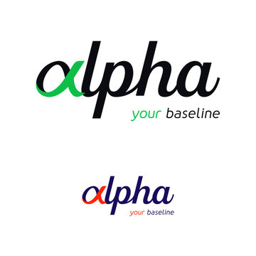 Alpha - Logotype pour entreprise