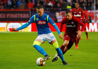 Europa League - Round of 16 Second Leg - RB Salzburg v Napoli
