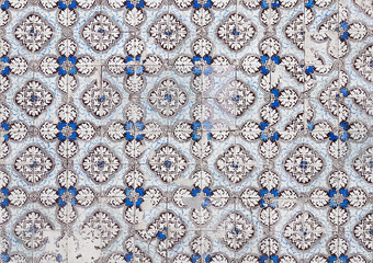 traditionelle portugiesische Fliesen - Azulejos - dekorativer Look