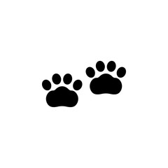 Paw icon vector. Paw vector design. sign design. flat style. Vector EPS 10