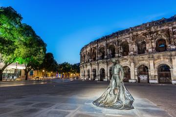 Nimes, France. Roman amphitheater
