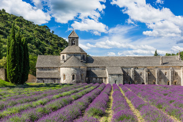 Provence, France. Senanque church.