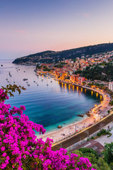 Photo sur Plexiglas Nice Villefranche sur Mer, France. Seaside town on the French Riviera (or Côte d'Azur).