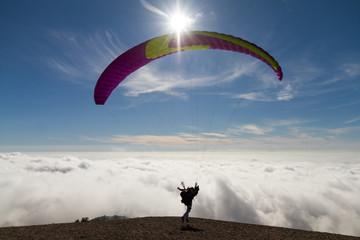 Paragliding at Ölüdeniz