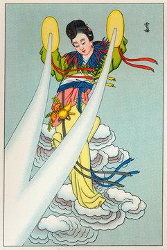 Chinese Lightning Goddess