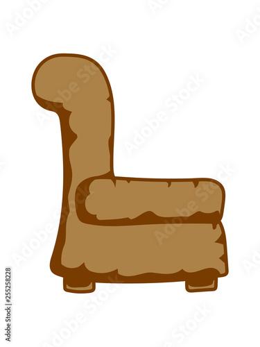 Sessel Sitzen Stuhl Bequem Leder Fernsehen Ausruhen Entspannen