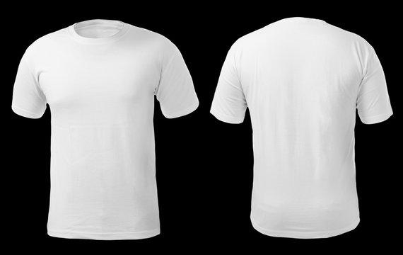 White Shirt Design Template