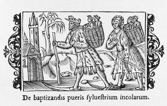 Children to Baptism