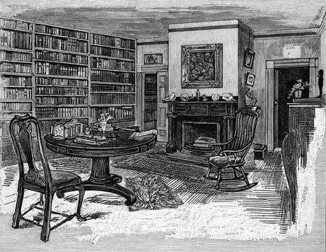 Rw Emerson Home Library