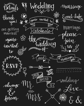 Hand Written Wedding Sentiments Vol 1