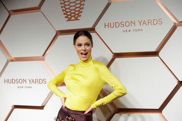 Rocha attends The Shops & Restaurants at Hudson Yards VIP Grand Opening Event in New York City, New York