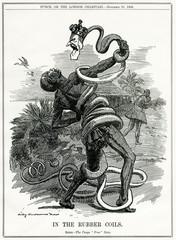 Leopold Ii, Belgian King, Crushes the Congo