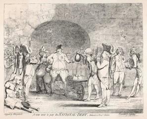 1786 Cartoon Pow Poverty