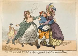 Devonshire Cartoon 1784