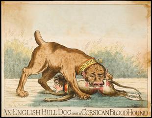 Bulldog and Bloodhound