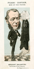 William Ballantine, Cartoon