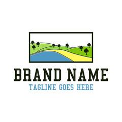 plantation landscape logo