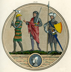 13th Century English Soldiers