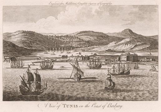 Tunis, Circa 1760