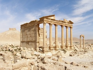The Funerary Temple, Palmyra, Syria