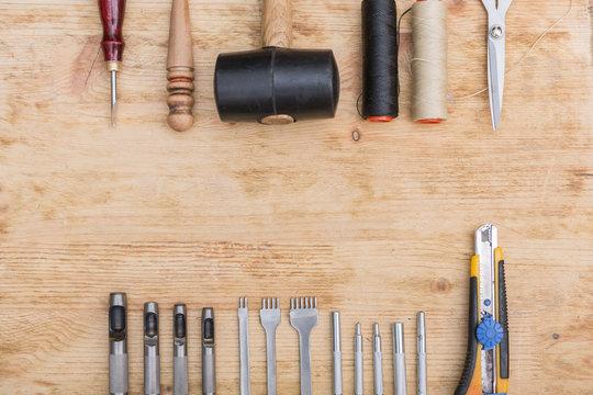 leather tools equipment