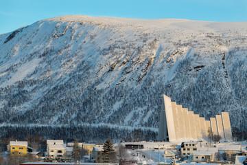 Wall Mural - Norwegen Tromso Eisbergkathedrale