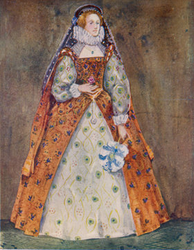 Englishwoman 1580