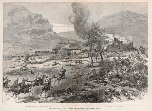 Zulu War Rorkes Drift