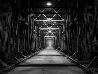 Obraz Most Lisewski w Tczewie - fototapety do salonu