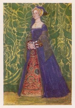 Englishwoman 1540