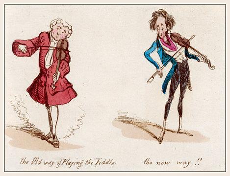 Violin, Old New Ways