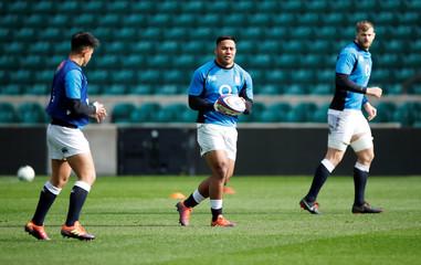 Six Nations Championship - England Training