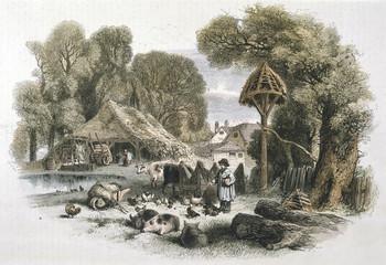 Farmyard, 1860