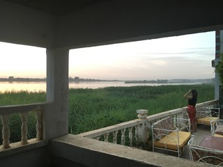 Woman by the Niger River