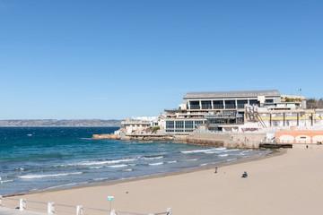 Marseille, Plage des Catalans - Marseille Famous beach of the Catalans