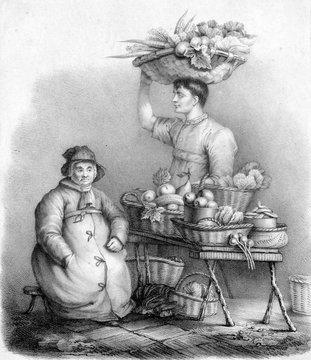 Wakefield Fruit Woman