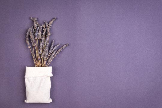 Bunch of lavander flower on the background