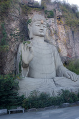 Grottoes and Buddha statues in Songcheng, Hangzhou City