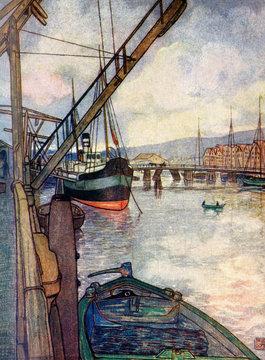 Norway Trondheim 1905