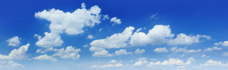 Wall Mural - Cloudscape - Blue sky and white clouds