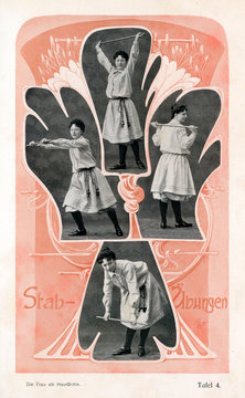 Girls Exercise 1905
