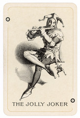 Jolly Joker Playing Card