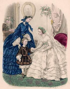 1860 Wedding Dress Boy
