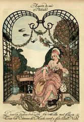 Illustration, Aupres De Ma Blonde