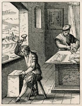 Goldsmith at Work 16th Century