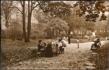 Social Monceau Park 1909