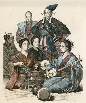 Racial Japan Musicians